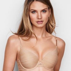 Victoria's Secret Sexy Tee Push Up Nude Bra 34C✨